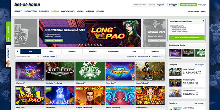 casino online bet at home