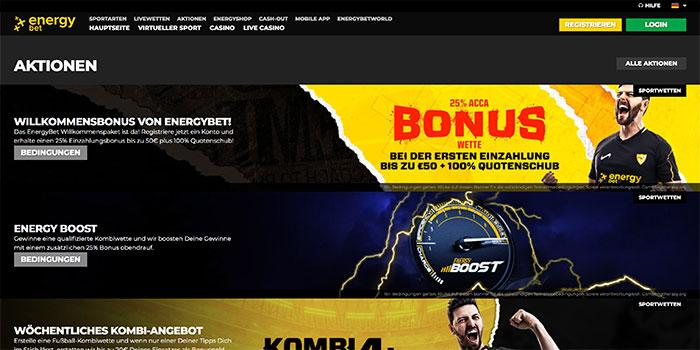 energybet homepage