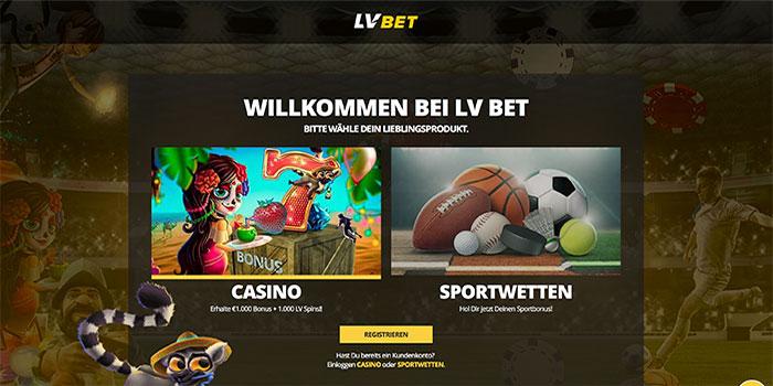 homepage lvbet