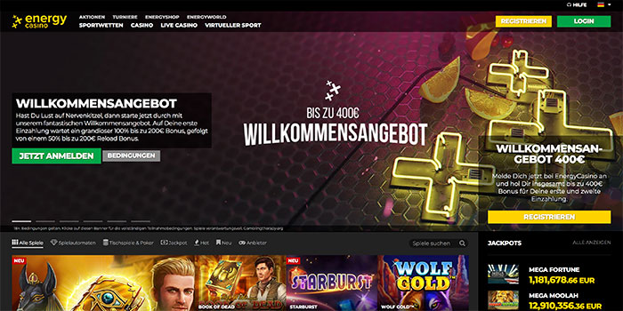 online casino energy