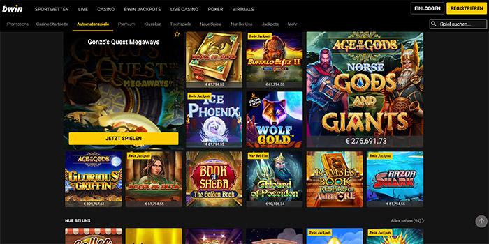 casino online bwin