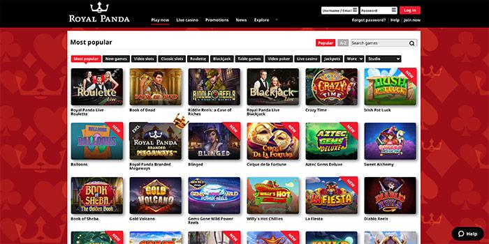 online casino royal panda